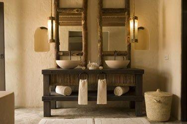 La salle de bain de la Private Retreat